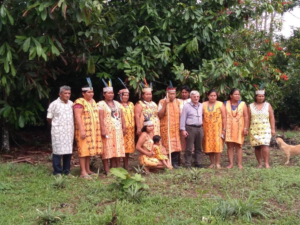 La comunidad nativa Arazaire se caracteriza por el liderazgo de sus mujeres. Foto: Cáritas Madre de Dios