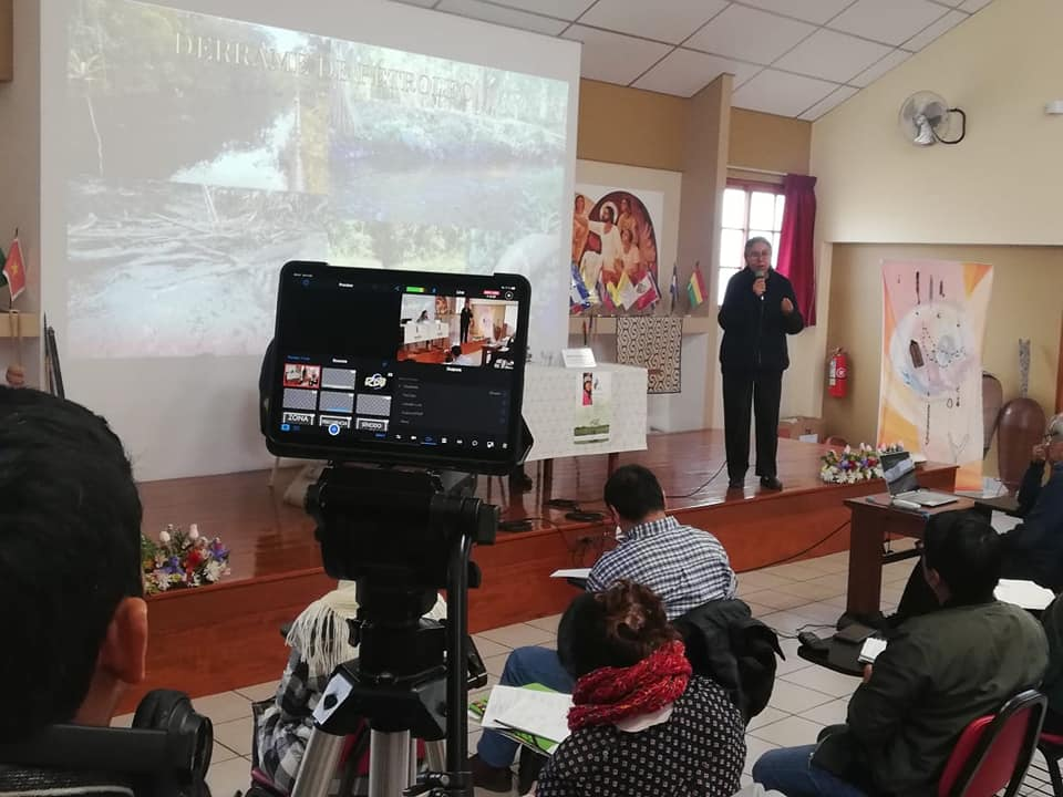 Hermana Lucero Guillén, durante su intervención. Foto: CCJPA