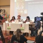 Delio Siticonatzi, durante su intervención. Foto: CCJPA