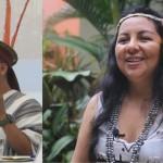 Ambos representantes indígenas son docentes de profesión. Fotos: BGB y DyP