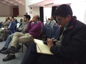 El conversatorio se desarrolló en el Auditorio Juan Pablo II de la PUCP. Foto: B.G.B.