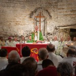 El Cardenal Claudio Hummes presidió la eucaristía previa a la firma del Pacto. Foto: Ghillerme Cavalli
