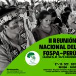 Logo II Reunión Nacional FOSPA_Perú