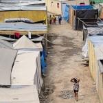 Situación. Comunidad se ha instalado en casas temporales (Foto: Antonio Melgarejo).