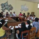 El encuentro se desarrolló en las instalaciones del Obispado de Puerto Maldonado. Foto: BGB