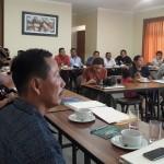 Dirigentes indígenas se reunieron durante los días 18 y 19 de noviembre en Pucallpa para analizar la situación y consensuar una postura al respecto del Proyecto Hidrovía Amazónica. Foto: CAAAP