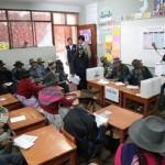ONPE brindará capacitación electoral especializada en lenguas originarias con miras a las elecciones al Congreso del próximo año. Fuente: Agencia Andina
