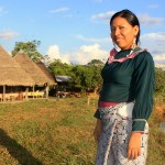 Jovita Vásquez siente que NOPOKI es su casa, pues se ha comprometido fuertemente con el proyecto de formación de jóvenes. Foto: UCSS