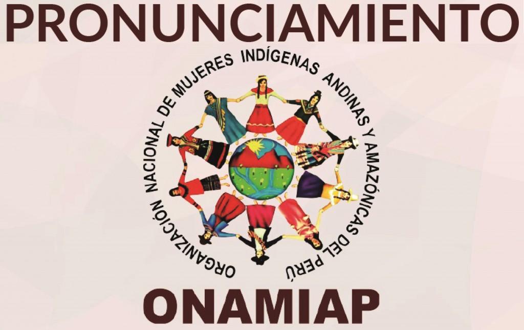 PRONUNCIAMIENTO ONAMIAP