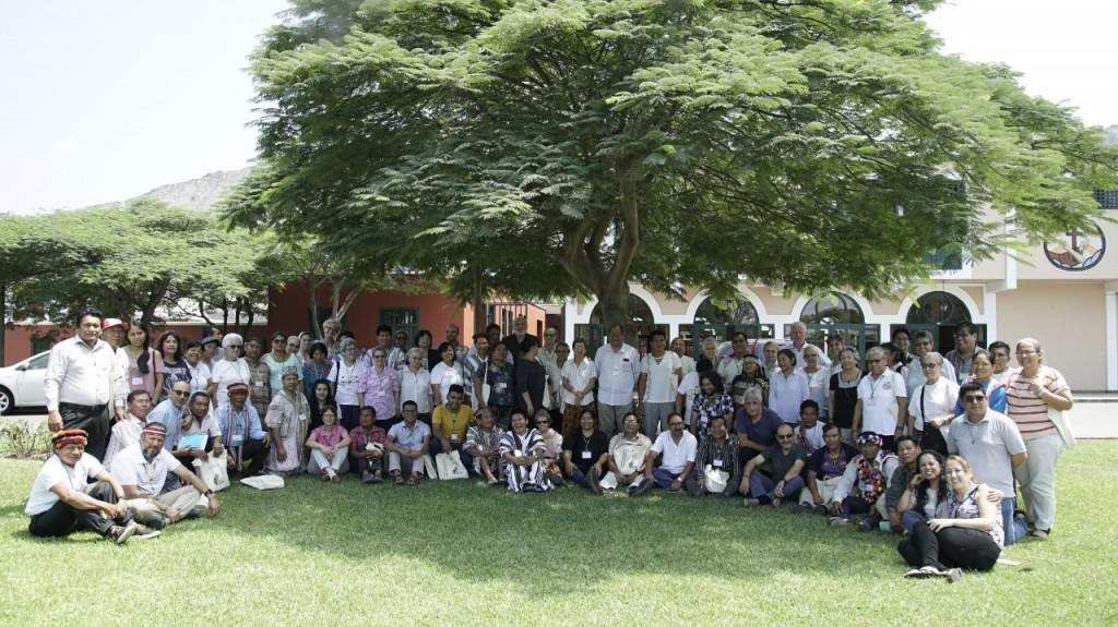 Foto grupal durante el tercer y último día del encuentro. Foto: P.D.