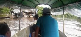 Iquitos: Denuncian avance de minería ilegal en el río Nanay