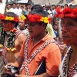 Pueblo Awajún denuncia presunto asesinado del indígena Américo Entsakua Santiak. Foto: Mocicc