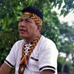 QUEJA. El presidente de la Federación Indígena Quechua del Pastaza (Fediquep) se encuentra en Holanda para presentar una queja contra la compañía petrolera Pluspetrol por contaminación ambiental y delitos tributarios. Foto: OjoPúblico / Aramís Castro.