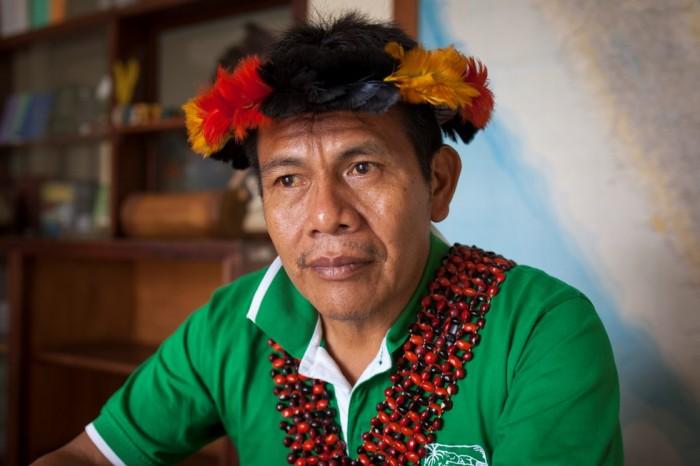 Salomón Awananch, presidente de ORPIAN-P. Foto: CAAAP