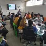 imagen de la reunión realizada en la Alcaldía de Mocoa donde se tomó la decisión de aplazar el FOSPA. Foto: FOSPA-Colombia