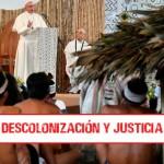 El Papa Francisco con pueblos Amazónicos (Archivo fotográfico: Vincenzo Pinto / AFP).