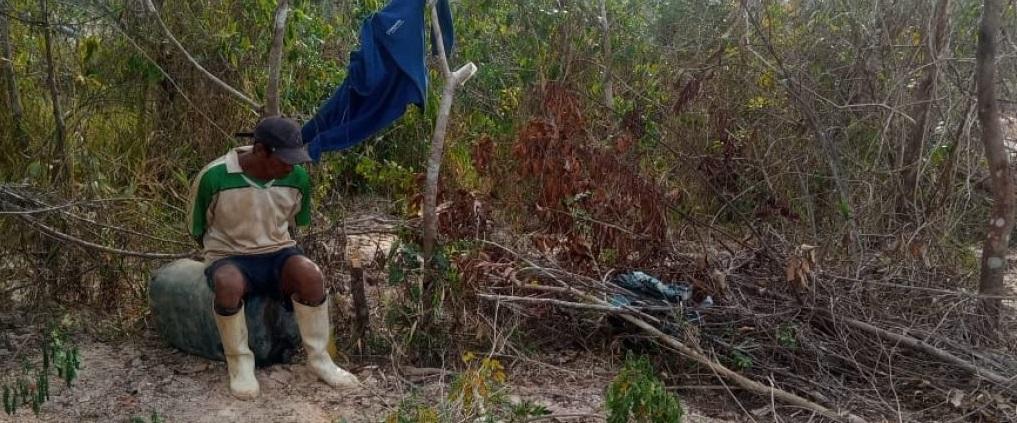 Wilber Huaman Paucar fue intervenido durante el enfrentamiento. Foto: cedida.