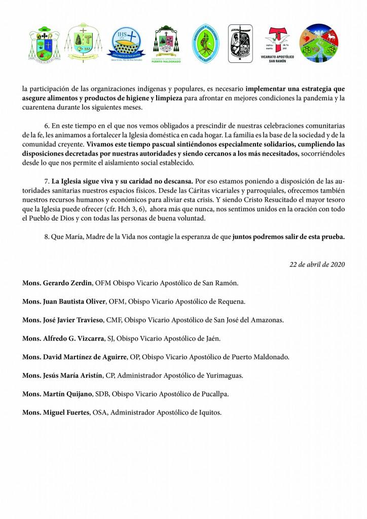 PRONUNCIAMIENTO OBISPOS2
