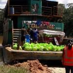 Embarcación Tocache, que recorrió el río Corrientes entregando los víveres de la municipalidad de Trompeteros. Foto: PUINAMUDT