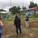 En los últimos días un comité de autoridades está visitando todos los sectores reiterando la gravedad de la situación. Foto: Cedida