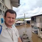 El Padre Raymundo Portelli, médico de profesión, muy apreciado por la población de Iquitos. Foto: Cedida