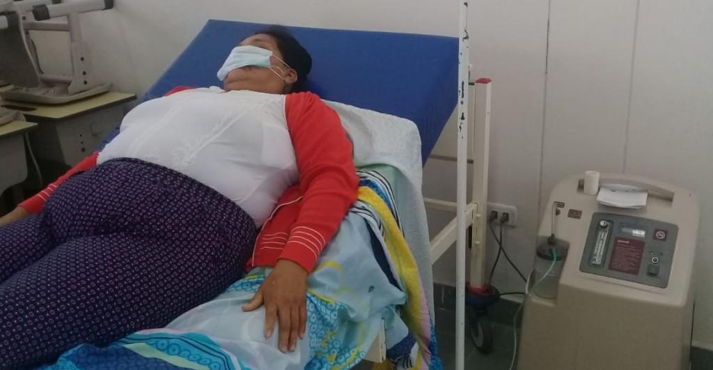 Se han adquirido concentradores de oxígeno gracias a los cuáles se está logrando estabilizar a varios pacientes. Foto: VSJA