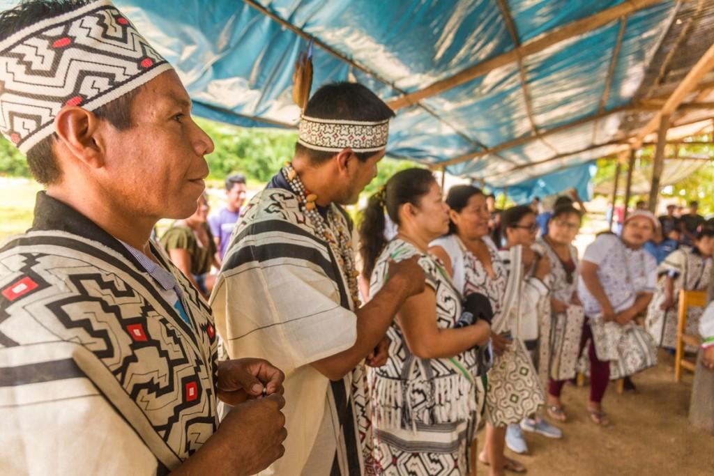 Santa Teresita está integrada por indígenas del pueblo Yine. Foto: Pavel Martiarena