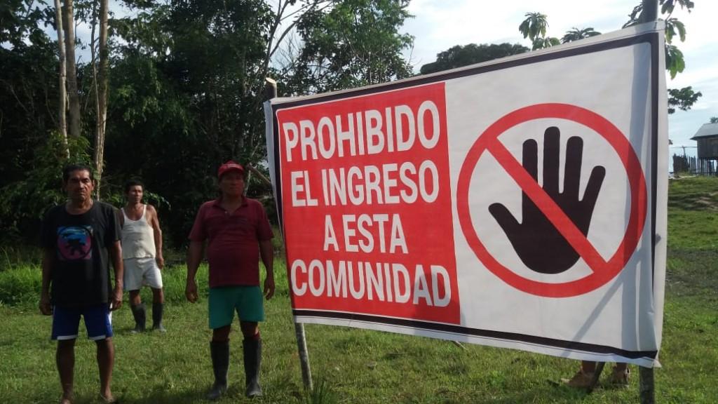 Comunidades de la triple frontera con Colombia y Brasil están viéndose muy afectadas. Foto: Cedida