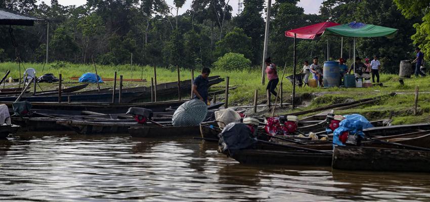 Aidesep exige que la acciones lleguen a los ríos. Foto: AIDESEP