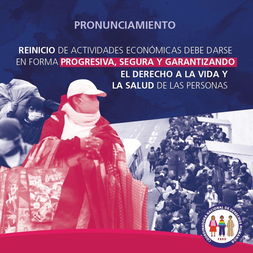 Imagen: Coordinadora Nacional de Derechos Humanos