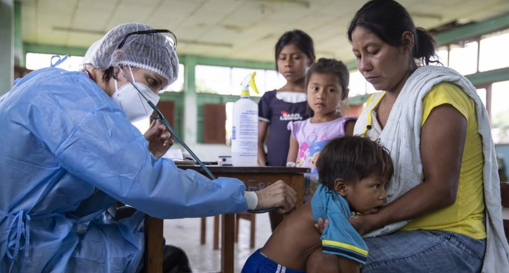 Atención en salud en la Microred del Napo. Foto: Ginebra Peña