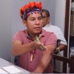 Ely Tangoa, presidente de CODEPISAM. Foto: CODEPISAM