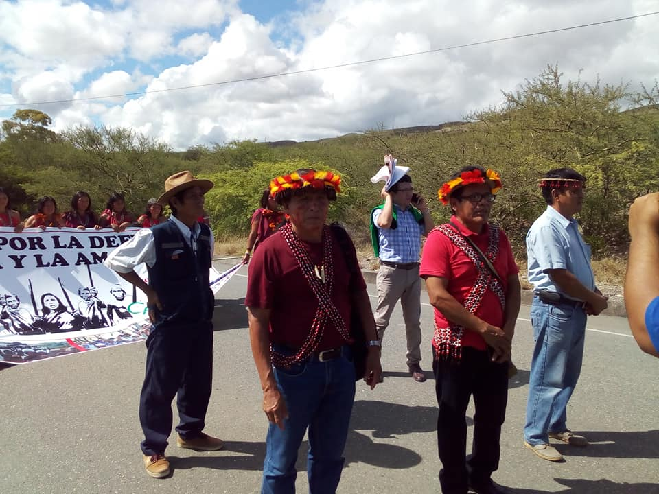 Arturo Kinín también estaba siendo procesado por el Baguazo. Foto: Redes