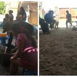 Indígenas shipibos varados en Paracas. Foto: Defensoría del Pueblo