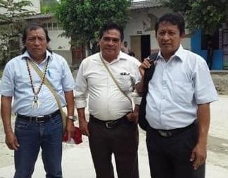 El último 5 de marzo, a las 2.00 pm, ingresando al Juzgado de Bagua. Foto: Cedida