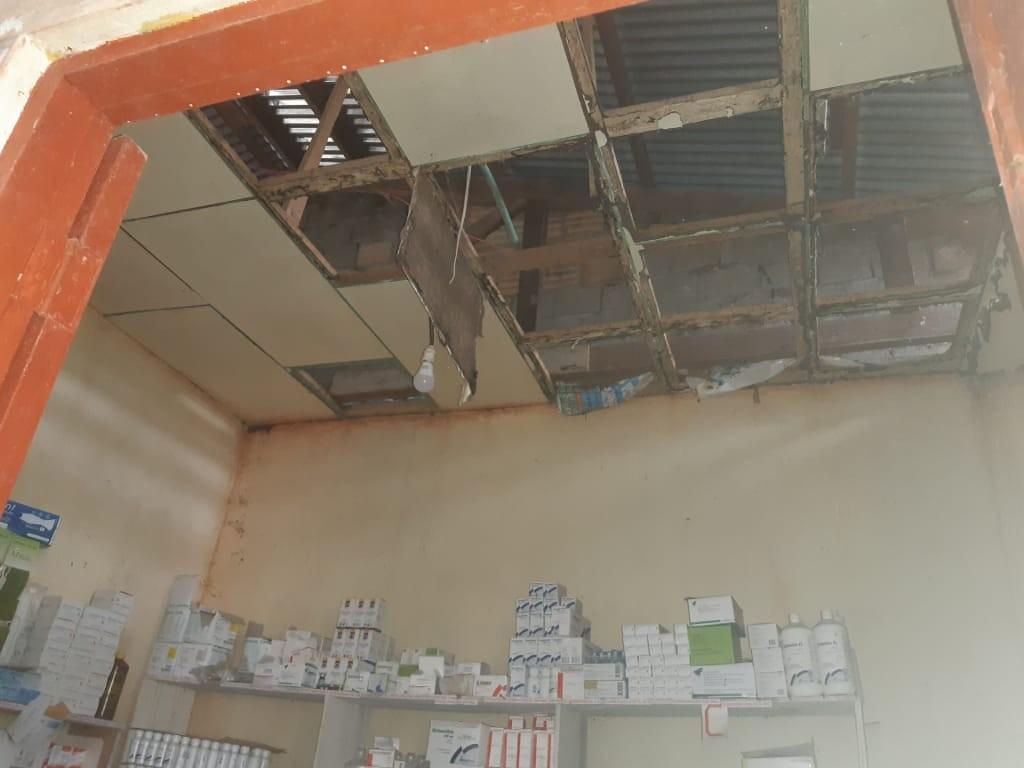 Las postas de la zona presentan condiciones muy precarias. Foto: Cedida