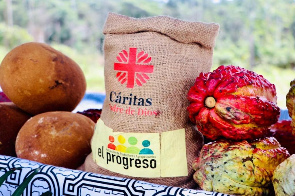 Cáritas Madre de Dios viene apoyando desde años atrás el proceso de emprendimiento de la Asociación El  Progreso. Foto: Cáritas MDD