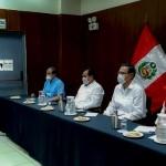 Imagen de la reunión sostenida en Pucallpa con el presidente Martín Vizcarra. Foto: Aidesep