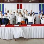 Imagen final tras la reunión. Foto: Gobierno del Perú