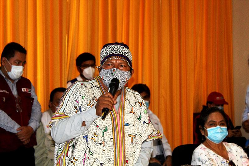 Julio Cusurichi, presidente de la FENAMAD. Foto: COHARYIMA