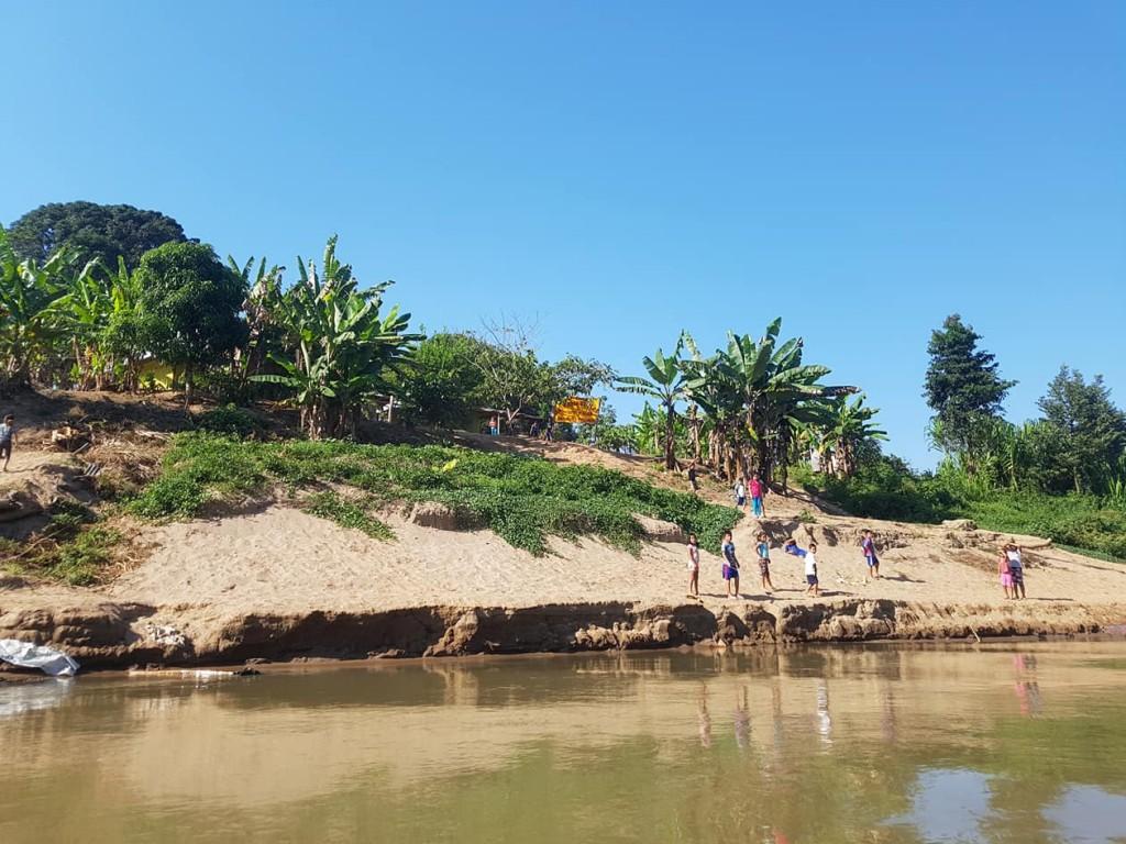 Sta. Rosa de Serjali dista uno a dos días de río de Villa Sepahua. Foto: BGB