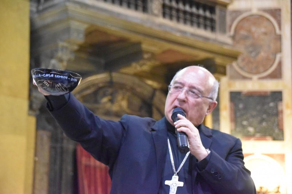 Cardenal Pedro Barreto, durante un evento desarrollado en Roma en el contexto del Sínodo de la Amazonía. Foto: Guilherme Cavalli - REPAM