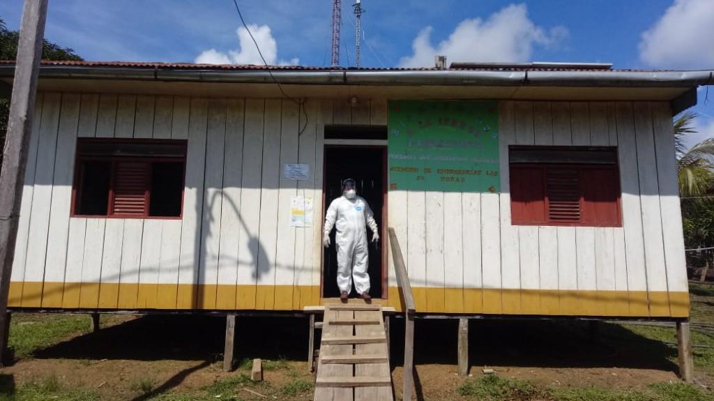 Imagen del puesto de salud de la zona. Foto: Julio Cumapa Ríos- IPRESS 1-1 Bellavista