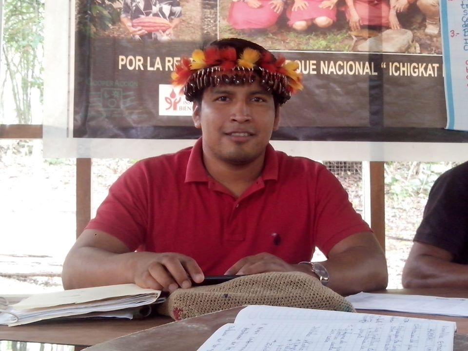 Santiago Jesús Manuin Mayán, hijo del desaparecido Santiago Manuin. Foto: Cedida