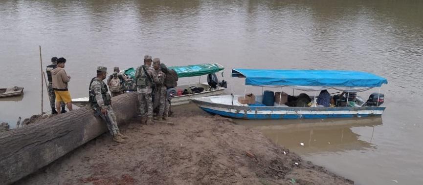 La provincia del Purús se organizó para salvaguardar su frontera. Foto: Cedida