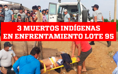 """ORPIO, tras muertes en el Lote 95: """"Exigimos investigar quien inició con los disparos y quiénes mataron a los tres hermanos indígenas"""""""