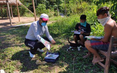 """Parque Nacional del Manu: Comunidad matsigenka pide reinicio de clases presenciales porque los niños """"no están aprendiendo como deben"""""""