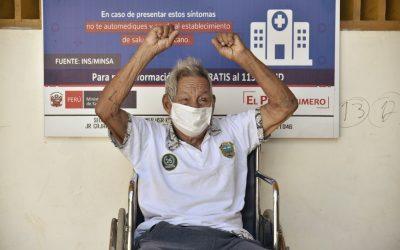 """Antonio Sueyo vence al Covid: """"Estoy muy contento. Regresaré a mi comunidad, allí está mi sitio"""""""