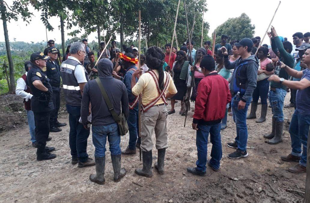 Comunidad Nativa Awajún de Shimpiyacu busca solución para desalojar a invasores
