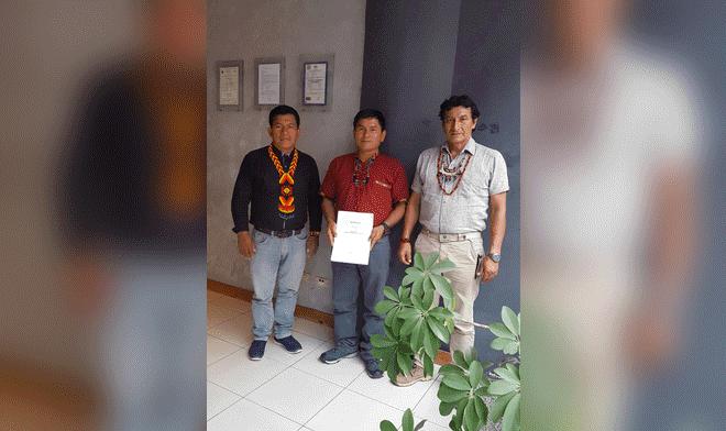 Indígenas presentan al gobierno plan de consulta previa sobre el Lote 192